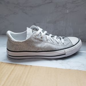 Light Gray Converse Allstar Sneakers Shoes